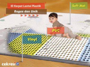 10 Karpet Lantai Plastik Bagus dan Unik