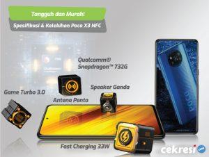 Tangguh dan Murah! Ini Spesifikasi dan Kelebihan Poco X3 NFC