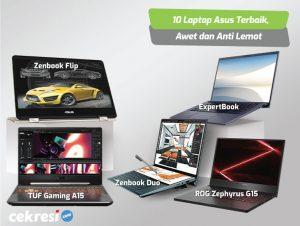 10 Laptop Asus Terbaik, Awet dan Anti Lemot