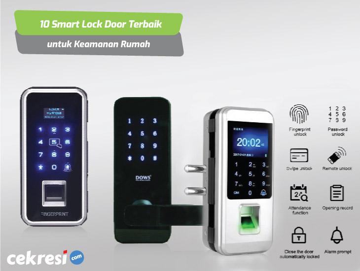 10 Rekomendasi Smart Lock Door Terbaik untuk Keamanan Rumah