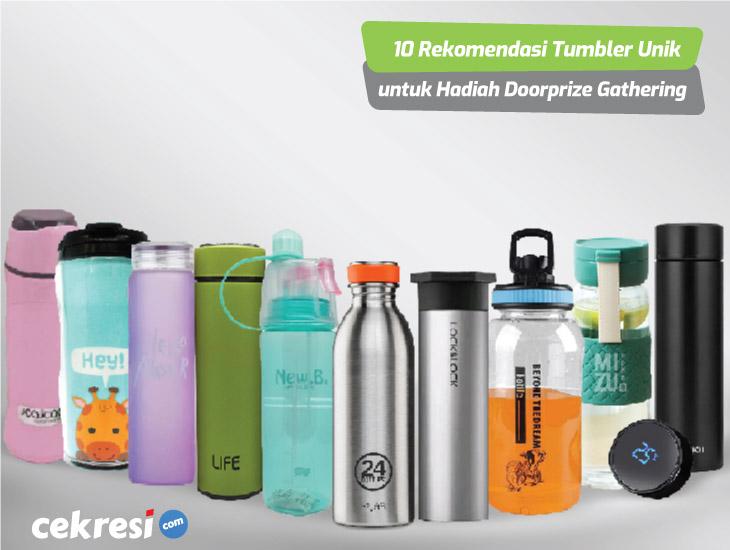 10 Rekomendasi Tumbler Unik untuk Hadiah Doorprize Gathering