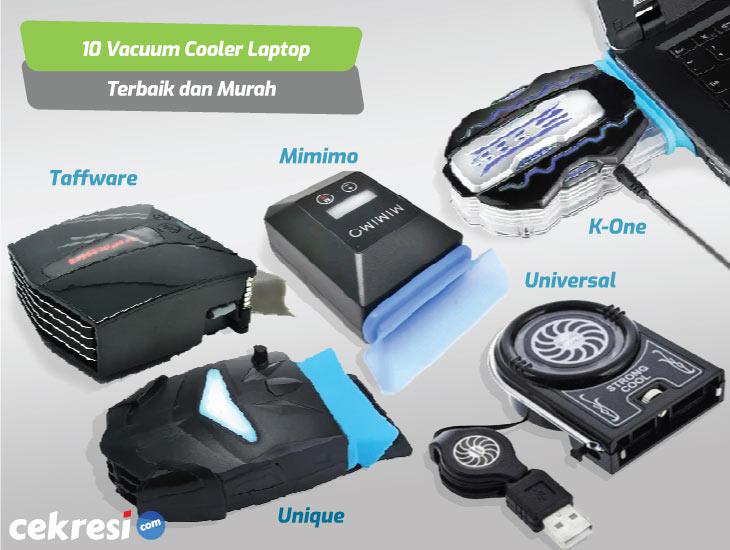 10 Rekomendasi Vacuum Cooler Laptop Terbaik dan Murah
