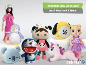 Boneka Lucu yang Cocok untuk Kado Anak 5 Tahun
