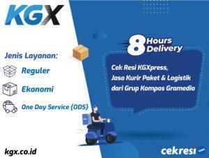 Cek Resi KGXpress, Jasa Kurir Paket dan Logistik dari Grup Kompas Gramedia