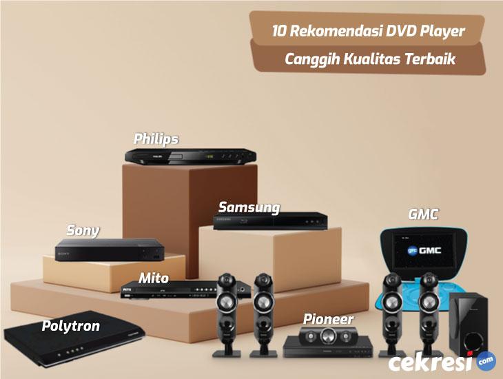 10 Rekomendasi DVD Player Canggih Kualitas Terbaik