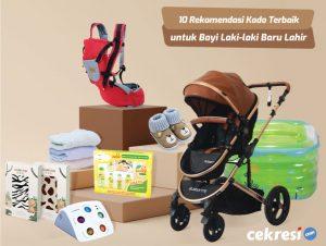 10 Rekomendasi Kado Terbaik untuk Bayi Laki-laki yang Baru Lahir