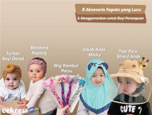 8 Rekomendasi Aksesoris Kepala yang Lucu dan Menggemaskan untuk Bayi Perempuan