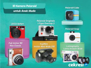 10 Rekomendasi Kamera Polaroid untuk Anak Muda