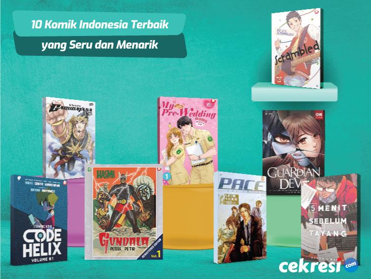 10 Rekomendasi Komik Indonesia Terbaik yang Seru dan Menarik