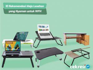 10 Rekomendasi Meja Lesehan yang Nyaman untuk WFH