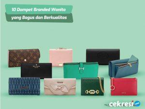 10 Rekomendasi Dompet Branded Wanita yang Bagus dan Berkualitas