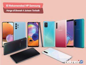 10 Rekomendasi HP Samsung Harga di Bawah 4 Jutaan Terbaik