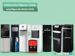8 Rekomendasi Dispenser Terbaik yang Bagus dan Hemat Listrik